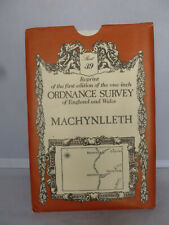 Machynlleth First Edition Reprint Ordnance Survey - Sheet 39
