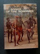 SONGS OF THE SONGMEN BOOK HB DW BOOK AUSTRALIA ABORIGINAL 1968 HARNEY PELKIN ex