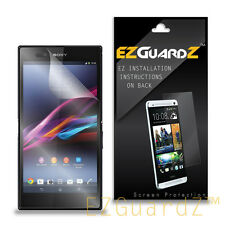 1X EZguardz Clear Screen Protector Shield 1X For Sony Xperia Z Ultra - Phablet