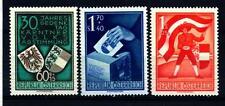 AUSTRIA - 1950 - 30° anniversario del plebiscito della Carinzia