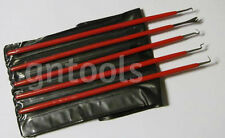 GN1463 5PC Quality Insulated Spring Hook & Pick Set Seal & O-Ring Removing Tools