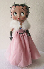 Betty Boop Porcelain Doll Pink Gown Limited Edition  by The Danbury Mint