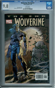 WOLVERINE THE END #1 CGC 9.8 WHITE PAGES