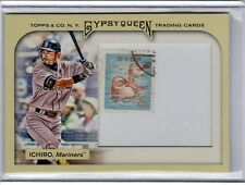 2011 TOPPS GYPSY QUEEN WITH JAPANESE USED STAMP ICHIRO 5/10