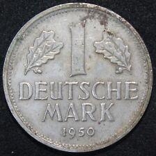 1950 D | Germany 1 Mark | Cupro-Nickel | Coins | KM Coins