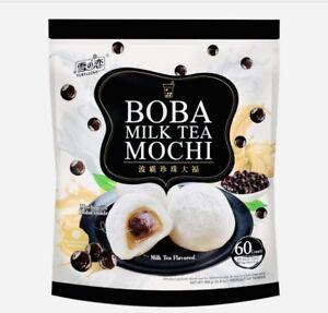 Yuki & Love BOBA MILK TEA MOCHI 60 Count 31.8 oz Bag