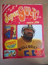 SUPERGULP Fumetti in TV n°11 1978   [G254A] Super Poster Uomo Ragno Story - RARO