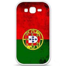 Coque housse étui tpu gel motif drapeau Portugal Samsung Galaxy Grand / Grand Pl