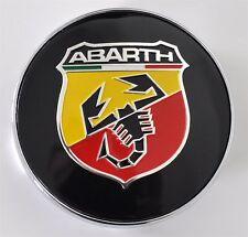 4 x FIAT ABARTH Nabendeckel Felgendeckel Radnabenkappen KappenDeckel 60 mm
