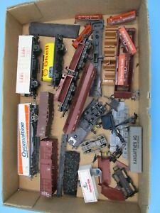 LOT HO Trains Freight Junkyard Parts Marklin Roco Germany Etc Ovomaltine, Shell