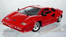 Vintage Tonka Polistil Lamborghini Countach 5000 Quattro Valvole Diecast Toy Car