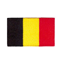 "Small Belgium Iron On Patch 2.5"" x 1.5"" inch (Small) Free Shipping World Flags"