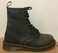 DR. MARTENS 1460  BLACK GREENLAND    LEATHER  BOOTS SIZE UK 3