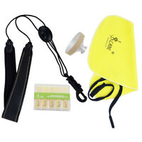 Saxophone Sax Cleaning Kit Set Reeds Strap Mute Cleaning Cloth for Alto Sax