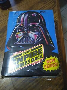 1980 Topps Star Wars The Empire Strikes Back Series 2 Box 🔥