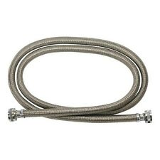 lot 2 GE universal 4-ft 2-Pack Hot & Cold-Stainless Washer Inlet HosesWX14X10005
