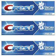 3 x Crest Decay Prevention Toothpaste, Cavity Protection - Fresh Mint - 100ml
