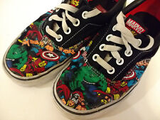 Vans Marvel Avengers Canvas Sneakers Shoes Off the Wall 4.5 Mens 6 Womens