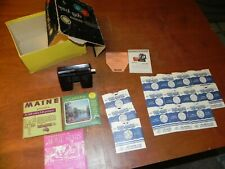Vintage Sawyers View Master With Reels Lot MAINE ALABAMA HOLLYWOOD sets ETC.