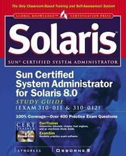 Sun Certified System Administrator for Solaris 8 Study Guide (Exam 310-011 & 31