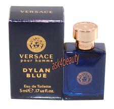 Versace Pour Homme Dylan Blue 0.17oz /5ml Men's Edt Splash Mini New In Box