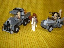 LEGO Indiana Jones Race for Stolen Treasure 7622 USED boy/girl 8+w/booklet