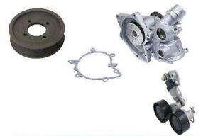 For BMW 540I 740I 740IL X5 E38 E39 E52 E53 Water Pump w/ Pulley & Belt Tensioner