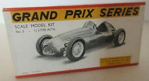 Rare Scale Model Equipment Co Ltd (S.M.E.C) 1.5 & 2 Litre Alta F1 Racing Car Kit
