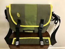 Timbuk2 Small Classic Messenger Bag With Shoulder Pad (Green & Yellow)