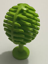 *NEW* 1 Piece Lego ROUND Fruit Fouliiferous Tree LIME Green
