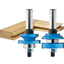 Rockler Round-Edge Matched Stile and Rail Bit Set