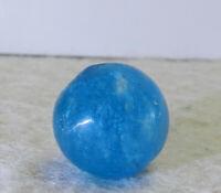 #12630m Vintage German Handmade Mica Marble .56 Inches