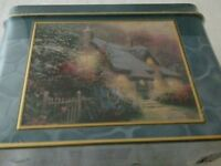 Thomas Kinkade Puzzle 100 Piece Miniature Jigsaw Puzzle Glory of Evening