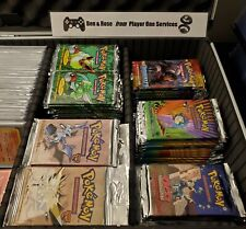 ⚠️ VINTAGE SEALED POKEMON CARDS COLLECTION ! ⚠️ Pokémon Original Sets WOTC 1999
