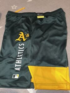 Oakland Athletics A's 2021 Nike Authentic Player Shorts XL