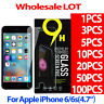 NEW 9H Tempered Glass Screen Protector Film for Apple iphone 6 6S 0.26MM LOT