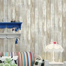 Nordic Style Stripe Wall paper Realistic 3D Effect Rustic Feature Backdrop E