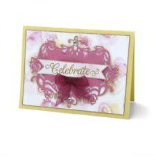 Sizzix Thinlits Die - Floral Label #2 by David Tutera 661897
