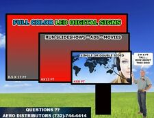 Full Color 8FTx4FT digital (Two Seperate Screens) 10mm  LED Sign 10K BRIGHTNESS