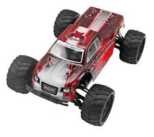 1:18 Volcano-18 V2 Electric RC Monster Truck 4WD 2.4GHz Remote Control Red New