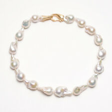 b2183a56c White Cultured Freshwater Pearl Necklace 925 Sterling Silver for Heliothus