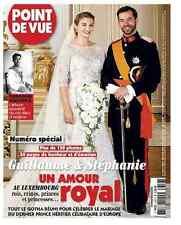 POINT DE VUE 3353 Mariage Stephanie Lannoy Guillaume Luxembourg Sihanouk Hopper