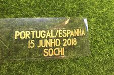 2018 Portugal Match Details Portugal Vs Spain Match Details Soccer Patch Badge