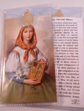 ST DYMPHNA ~ Prayer Card & Medal ~ PACK OF THREE