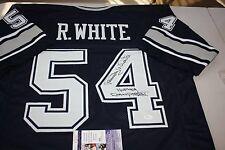 a9625e479ca DALLAS COWBOYS RANDY WHITE #54 SIGNED HOME JERSEY HOF 1994 SB MVP JSA CERT
