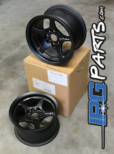 Lenso VPD Black Drag Autocross Wheels 13x7.5 4x100 Civic Integra Miata Rims