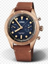 Oris Carl Brashear Chronograph Limited Edition Bronze Diving Watch
