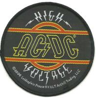 AC/DC high voltage 2004 - circular WOVEN SEW ON PATCH official no longer made