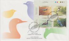 CANADA #1839-1842 46¢ BIRDS OF CANADA UL PLATE BLOCK FIRST DAY COVER