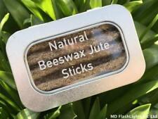100% NATURAL BEESWAX JUTE TINDER FIRE STARTER WATERPROOF WINDPROOF BUSHCRAFT